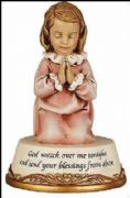 Baptism Christening Baby Gift for a Girl Religious Statue Ornament Blessings